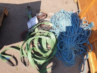 Lifting Slings, Anderson Leads & Rope