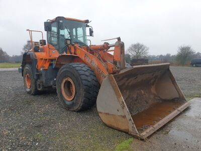 2013 Doosan DL420-3 Wheeled Loader