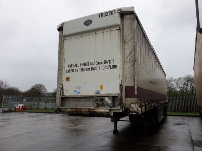 2003 Cartwright Triaxle Curtainside Trailer