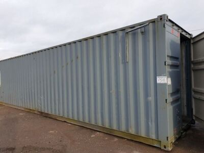 40ft Workshop Container