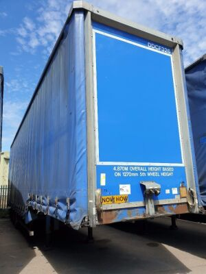 2007 SDC Triaxle Stepframe Double Deck Curtainside Trailer