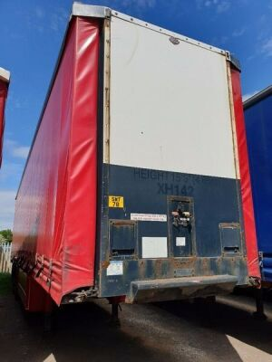 2005 Cartwright Triaxle Curtainside Trailer