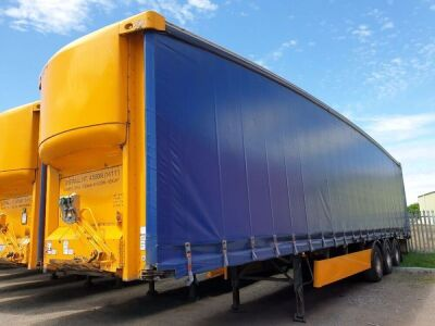 2004 SDC Triaxle Curtainside Trailer