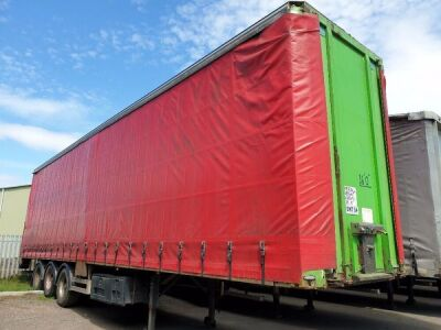 1998 Wilson Double Deck Curtainside Trailer