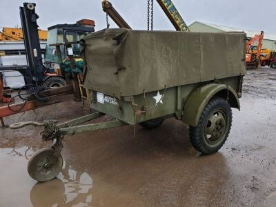 1941 - 1945 US MIlitary General Purpose Cargo Trailer,