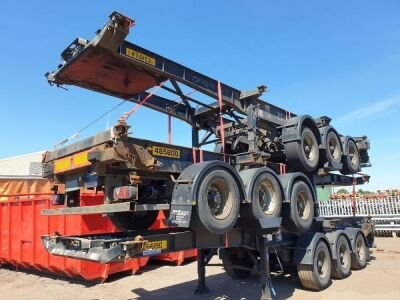 2007 SDC Triaxle Skeletal Trailer