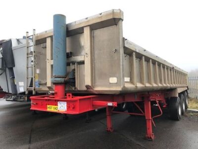 1999 Weightlifter Triaxle Alloy Body Tipping Trailer