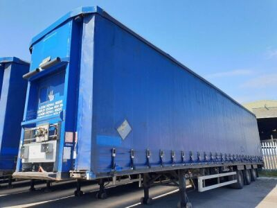 2008 SDC Triaxle Curtainside Trailer