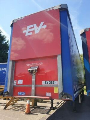 2018 Montracon Triaxle Curtainside Trailer