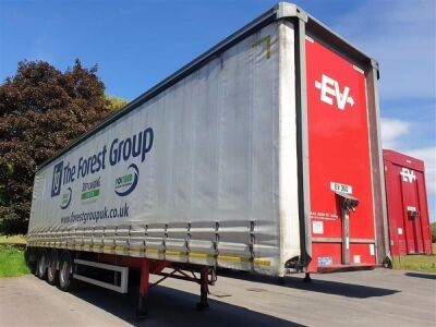 2015 Montracon Triaxle Curtainside Trailer