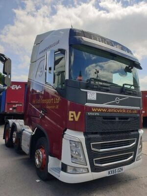 2015 Volvo FH460 Euro 6 6x2 Midlift Tractor Unit