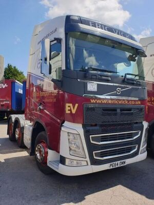 2014 Volvo FH460 Euro 6 6x2 Midlift Tractor Unit