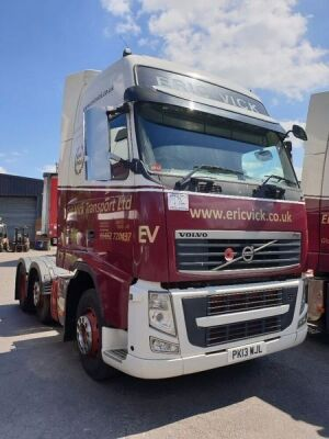 2013 Volvo FH460 Midlift 6x2 Tractor Unit