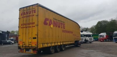 2010 SDC Double Deck Triaxle Curtainside Trailer