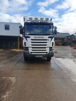 2005 SCANIA R420 8x4 Alloy Body Tipper