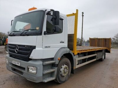 2006 MERCEDES Axor 1823 4x2 Beavertail Rigid