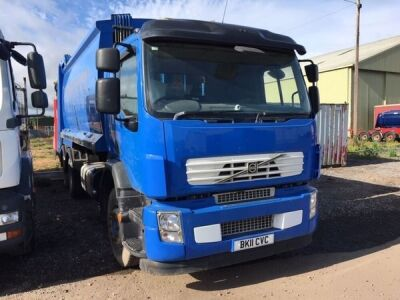 2011 VOLVO FE 300 6x4 Refuse Collector,