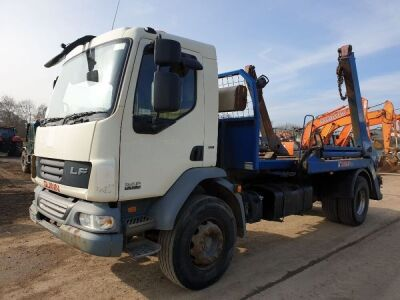 2009 DAF LF55 250 4x2 Telescopic Skip Loader, Automatic