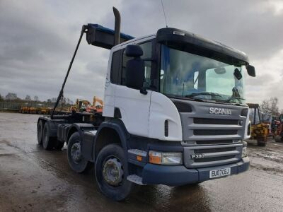 2007 SCANIA P380 8x4 Hook Loader