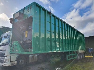 2010 Boughton Triaxle Ejector Trailer
