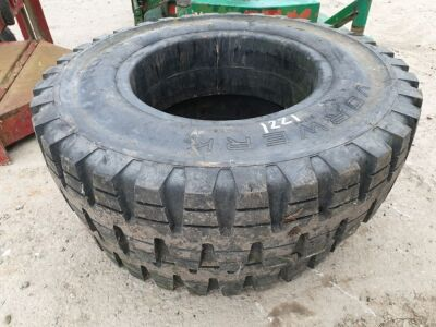 2 x 7.50 -15 Solid Tyres