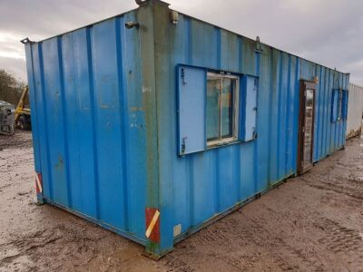 32ft x 10ft  Anti- Vandal Site Office Container