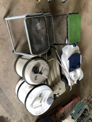 6 x Misc Caravan Water & Waste Containers