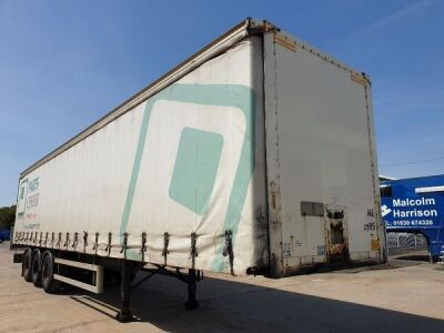 2005 Montracon Triaxle Curtainside Trailer