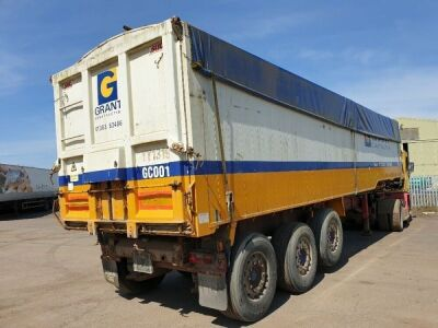 2001 SDC Triaxle Tipping Trailer