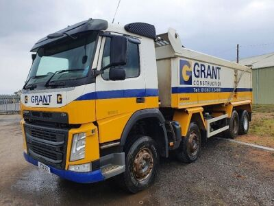 2015 Volvo FM420 8x4 Alloy Body Aggregate Spec Tipper
