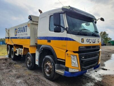 2016 Volvo FM420 8x4 Alloy Body Aggregate Spec Tipper