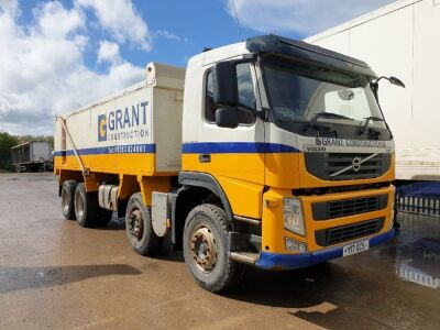 2012 Volvo FM380 8x4 Alloy Body Aggregate Spec Tipper