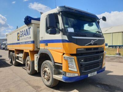 2017 Volvo FM420 8x4 Alloy Body Aggregate Spec Tipper