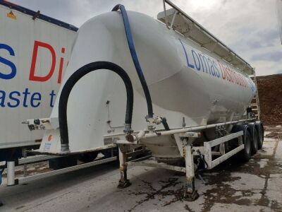 2010 Spitzer 37m³ 2 Pot Belly Triaxle Tanker Trailer