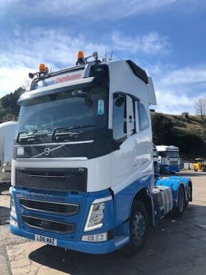 2016 VOLVO FH540 Globetrotter XL 6x2 Tag Axle Tractor Unit