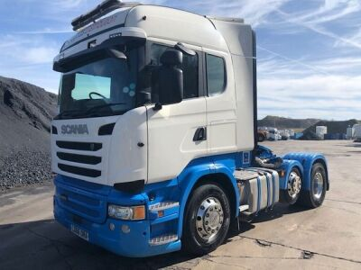 2016 SCANIA R490 Highline 6x2 Mini Midlift Tractor Unit