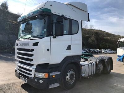 2015 SCANIA R450 Highline 6x2 Midlift Tractor Unit