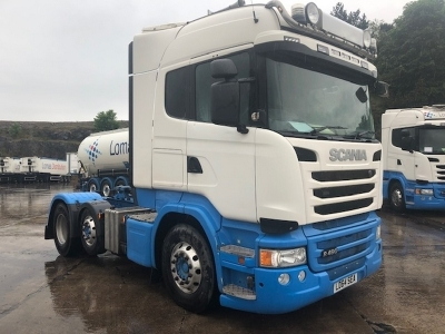 2014 SCANIA R490 Highline 6x2 Midlift Tractor Unit