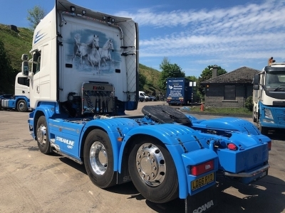 2016 SCANIA R580 V8 Topline 6x2 Rear Lift Tractor Unit - 4