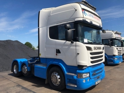 2016 SCANIA R580 V8 Topline 6x2 Mini Midlift Tractor Unit